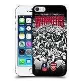 オフィシャル Arsenal FC セレブレーション 2017 The Emirates Fa Cup Winners ハードバックケース Apple iPhone 5 iPhone 5s iPhone SE