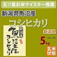 戸塚正商店 新潟県魚沼産「コシヒカリ こしひかり」玄米5kg 27年産