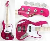 EDWARDS E-BUZZ BASS See Thru Pink tetsuyaモデル ベース