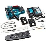 マキタ(Makita) 充電式チェンソー ガイドバー長さ250mm 18V 6Ah バッテリ2本・充電器付 MUC254DRGX