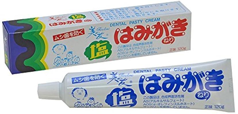 食事テントお茶美の友塩はみがき(120g)