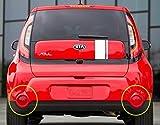 KIA Motors OEM純正92451b2000、92452b2000背面左右バンパー反射板アセンブリ2-pcセットfor 14?15?Kia All New Soul