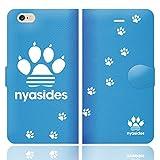 [iPhone6S 6 兼用 手帳型 ケース カバー] NYASIDES ニャシデス M