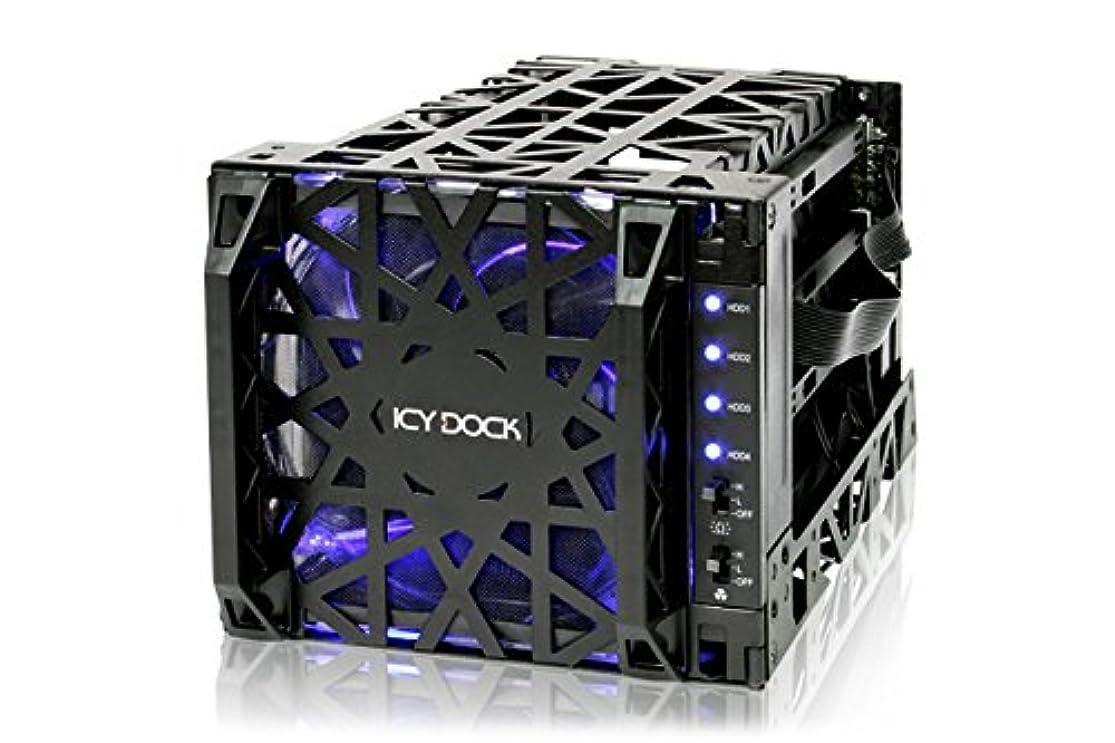 ギャンブル境界足枷CREMAX Black Vortex3.5HDD4個搭載リムーバブルケース