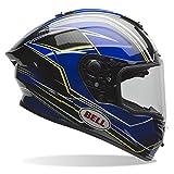 BELL ベル 2016年 Race Star レース スター ヘルメット Triton トリトン 青イエロー/XL [並行輸入品]