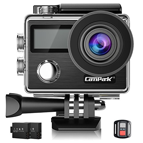 Campark 4Kアクションカメラ 2000万画素 フルH...