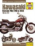 Kawasaki Vulcan 700 (1985), Vulcan 750 (85-06), Vulcan 800 (95-05), Vulcan 800 Classic (96-02) & Vulcan 600 Drifter (99-06) (Haynes Powersport)