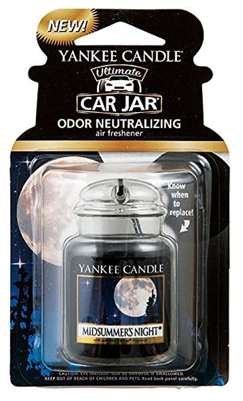 防ぐ未使用励起ヤンキーキャンドル ネオカージャー YANKEECANDLE  ミッドサマーナイト 吊り下げて香らせるフレグランスアイテム