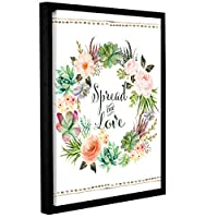 Tara Moss's Spread The Love Wreath 18x24 マルチカラー 3mos028a1824f