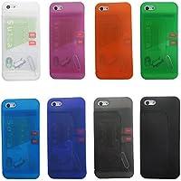 i5MultiCase iPhone5 iPhone5s ケース スタンド SIMフリー 防磁シート無し (クリアグリーン)