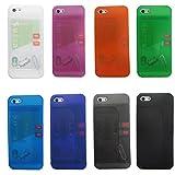 i5MultiCase iPhone5 iPhone5s ケース スタンド SIMフリー 防磁シート無し (クリアオレンジ)