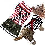Beau Village(ボー・ヴィラージュ) おしゃれなワンちゃんに♪マリンスタイル お揃いでも着られる ドッグウェア 犬用 犬服 (L, スカート)