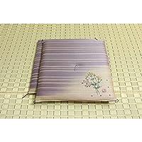 純国産/日本製 捺染返し い草座布団 『女郎花(おみなえし) 2枚組』 約55×55cm×2P