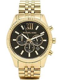 [マイケルコース] 腕時計 メンズ MK8286 ブラックゴールド [並行輸入品]