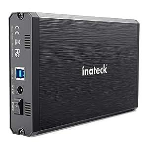Inateck 2.5/3.5インチ USB3.0 HDD外付けケース SATA(SATA-I/II/III)にサポート UASP超高速データ転送モードに対応 アルミ製