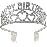 Glitter Tiara - Happy Birthday (並行輸入品)