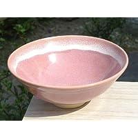 ピンク平茶碗