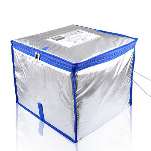 (バックシト)Bag Sito 宅配ボックス 収納ボックス クール便対応 保冷タイプ 大容量50リットル 個人宅 戸建て用箱 鍵・ワイヤー・印鑑用ポケット付