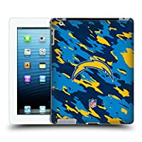 オフィシャル NFL カモフラージュ Los Angeles Chargers ロゴ iPad 3 / iPad 4 専用ハードバックケース