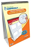 NewPath Learning Thinking Graphically About Reading Comprehension Character Analysis Flip Chart Set Grade 1-7 [並行輸入品]