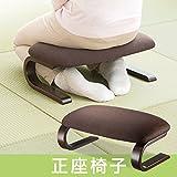 イーサプライ 正座椅子 あぐら 長時間 楽 曲木 腰痛対策 EEX-CH32