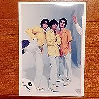 * 公式写真 813 嵐 二宮和也 松本潤 相葉雅紀 ジャニショ フォト 公式 グッズ/初期 Jr.時代 初期 幼い/Jロゴ GC37