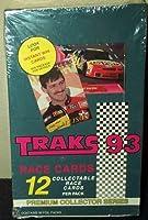 1993 Traks 93 Premium Race Cards Box -36 Count
