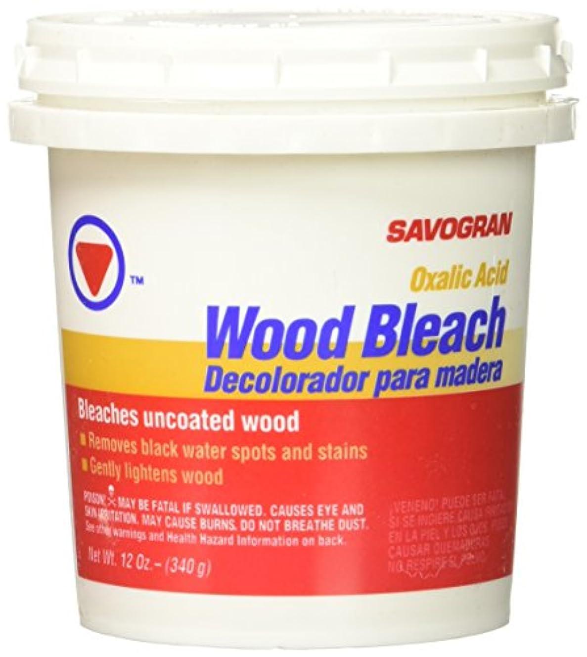 蒸し器メッセージ広告するSavogran 10501木製漂白剤、12oz。 12 oz 10501 1