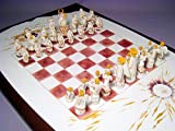 マイセン ウニカート 一点もの チェス 天使と悪魔 Pシュトラング&ブレッチュナイダー 1992年 証明書
