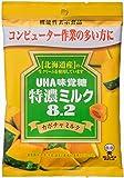 味覚糖   特濃ミルク8.2 カボチャミルク   93G×6袋 [機能性表示食品]