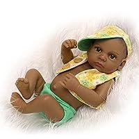 Nicery 生まれ変わった赤ちゃん人形おもちゃハードシミュレーションシリコンビニール10インチ26cm防水おもちゃとギフト Reborn Baby Doll ID26003B