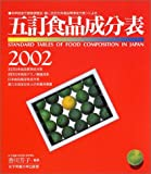 五訂食品成分表 2002―科学技術庁資源調査会・編〈五訂日本食品標準成分表〉