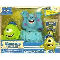 Disney Monsters University Tub Time Friends 3 Pcs Bath Gift Set - Includes 2 Bath Poufs & Body Wash by Disney Monsters University [並行輸入品]