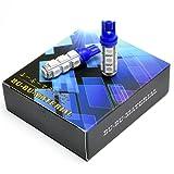 ぶーぶーマテリアル T10 LED ウェッジ球 13連 SMD5050 ポジションランプ 青 ブルー 2個セット 車 【カーパーツ】