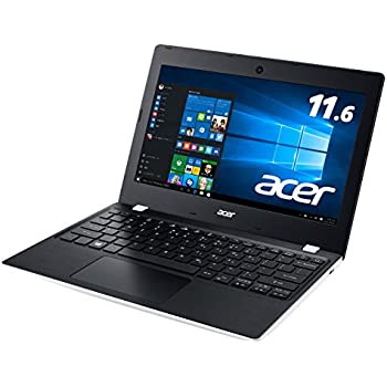 Acer ノートパソコン Aspire One11 AO1-132-N14N/W Windows10/Celeron/11.6インチ/4GB/32GB