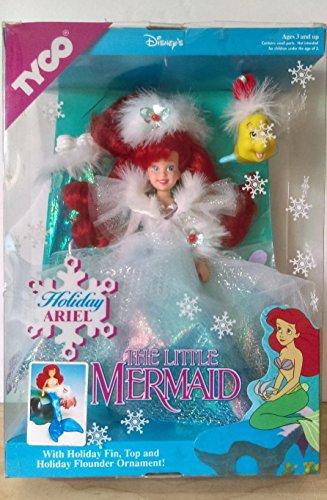 리틀 머메이드 개미 L의 휴일 인형 1991 TYCO/DISNEY'S The Little Mermaid Holiday Ariel #1811 NEW/SEALED [병행수입품]-q1