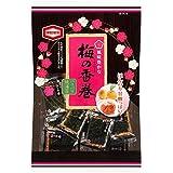 Kameda Seaweed Rice Cracker Flavoured With Ume Plum , Ume Plum, 48 g, 16Pcs