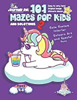 101 Mazes For Kids 2: SUPER KIDZ Book. Children - Ages 4-8 (US Edition). Cartoon Cloud Baby Unicorn, Purple w custom art interior. 101 Puzzles w solutions - Easy to Very Hard learning levels -Unique challenges and ultimate mazes book for fun activity time (Superkidz - Unicorn 101 Mazes for Kids)