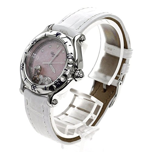 Chopard(ショパール) 27/8921-403 フィッシュ ダイヤモンド ハッピースポーツ 腕時計 ステンレス/アリゲーター レディース (中古)