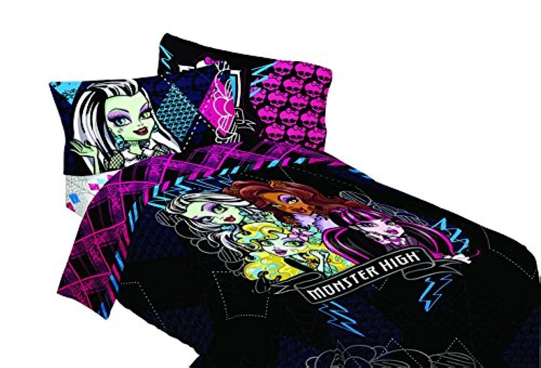 [マテル]Mattel Monster High My BFF Crew Twin Comforter, 64 by 86Inch MJ4158 [並行輸入品]