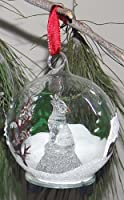 StealStreet SS-UG-HDA-139 Howling Wolf Light Up Glass Wildlife Ornament 4 【Creative Arts】 [並行輸入品]