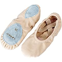 s.lemon All-Round Elastic Canvas Ballet Shoes Flats Stretch Slippers Pumps for Girls Kids Women