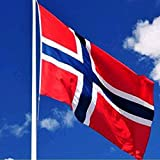 Hommy ノルウェー国旗  応援国旗 90 x 150cm