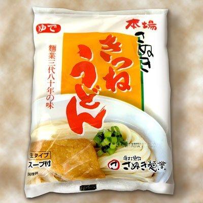 讃岐のきつねうどん(ゆでうどんスープ付き) 1食入×20袋