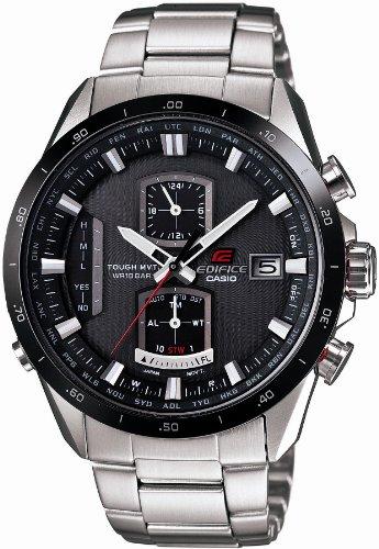 タフソーラー 電波時計 EQW-A1100DB-1AJF メンズ エディフィス(時計)