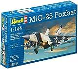 ドイツレベル 1/144 MiG-25 フォックスバット 03969 プラモデル