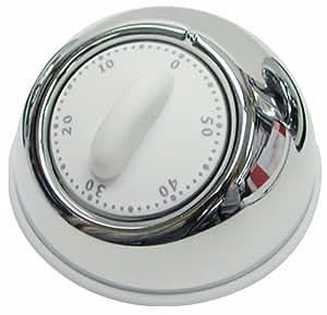 ドリテック(dretec) デジタルタイマー 60分計ホワイト T-302-WT