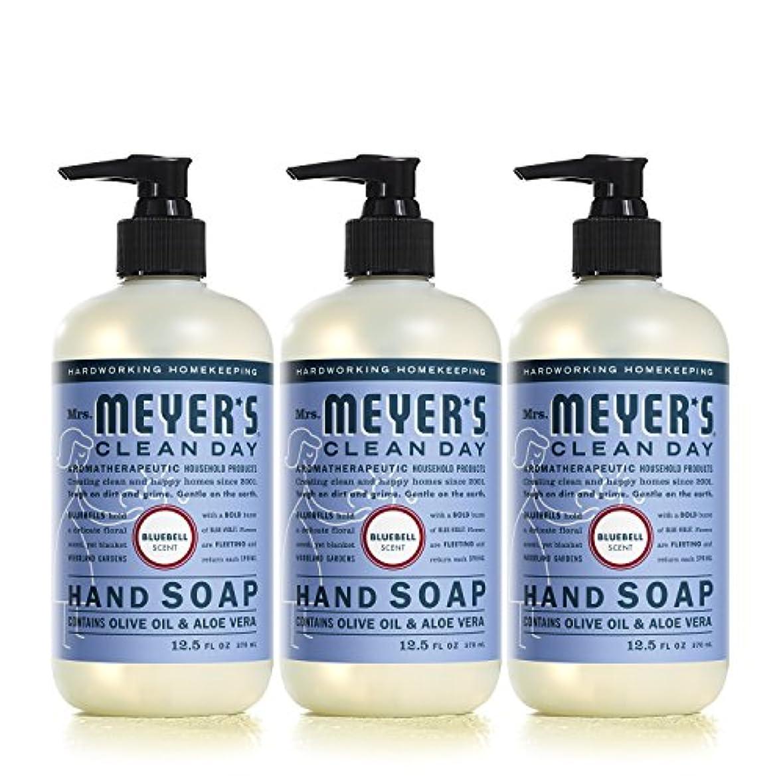 焦げ懲らしめカウントアップMrs。Meyer 's Clean Day Hand Soap、?ブルーベル、12.5 FL OZ