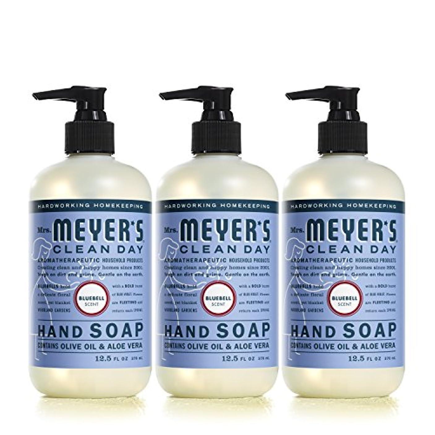 Mrs。Meyer 's Clean Day Hand Soap、?ブルーベル、12.5 FL OZ