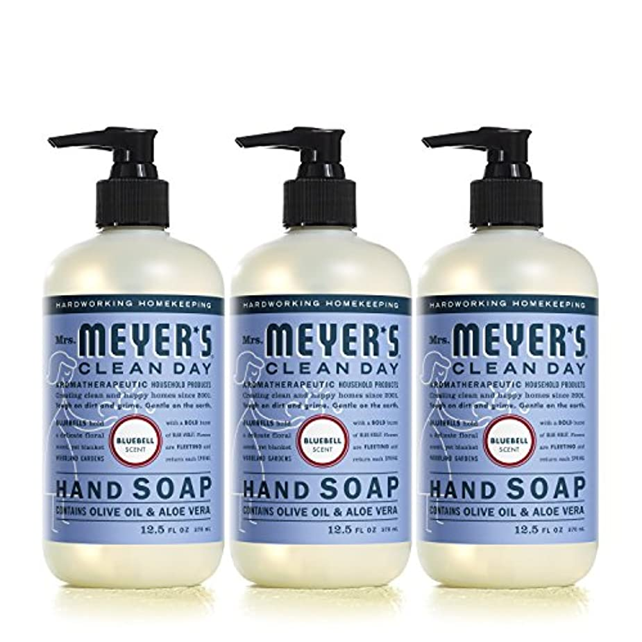 Mrs。Meyer 's Clean Day Hand Soap、?ブルーベル、12.5 FL OZ